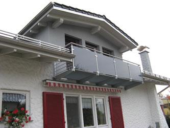 metallbau kech balkone. Black Bedroom Furniture Sets. Home Design Ideas